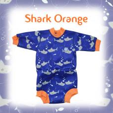 Splashabout: Happy Nappy Wetsuit - Shark Orange