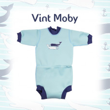 Splashabout: Happy Nappy Wetsuit - Vint Moby