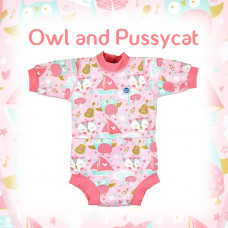 Splashabout: Happy Nappy Wetsuit - Owl and the Pussycat