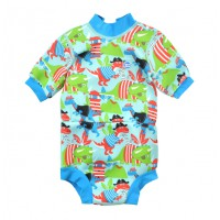 Splashabout Happy Nappy Wetsuit - Dino Pirates XL 1-2yrs