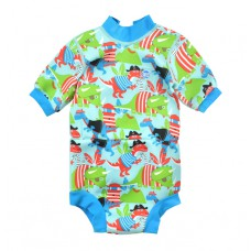Splashabout Happy Nappy Wetsuit - Dino Pirates L 6-14mths