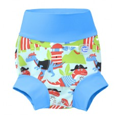 Splashabout: Happy Nappy in Dino Pirates - XL 12-24mth