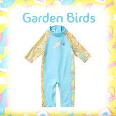 Splashabout: Toddler UV Sunsuit - Garden Birds