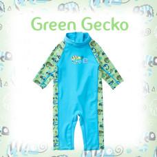 Splashabout: Toddler UV Sunsuit - Green Gecko