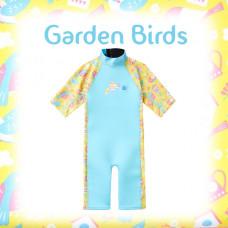 Splashabout: UV Combi Wetsuit - Garden Birds