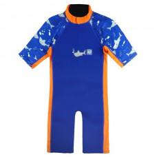 Splashabout: UV Combi Wetsuit - Shark Orange 2 ~ 4 years