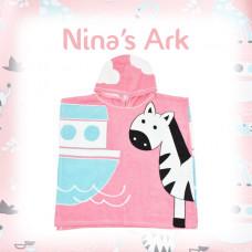 Splashabout: Poncho Towel - Nina's Ark