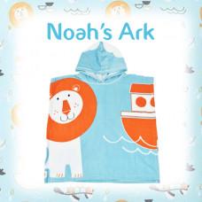 Splashabout: Poncho Towel - Noah's Ark
