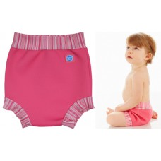 Splashabout: Happy Nappy in Pink Classic - M 3-6mth