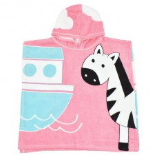 Splashabout - Kid's Hooded Poncho Towel - Nina's Ark
