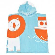 Splashabout - Kid's Hooded Poncho Towel - Noah's Ark