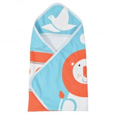 Splashabout - Baby Hooded Towel - Noah's Ark
