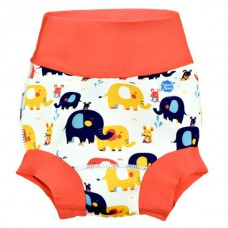 Splashabout: Happy Nappy in Little Elephants - M 3-6mth