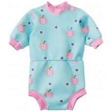 Splashabout: Happy Nappy Wetsuit in Apple Daisy - M 3-8mth