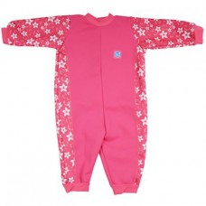 Splashabout: Warm In One in Pink Blossom - M 3-6mth