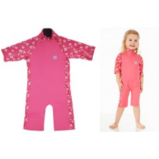 Splashabout UV Combi Wetsuit Pink Blossom 4-6 Years