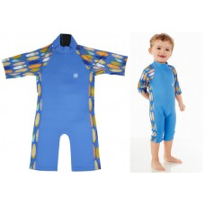 Splashabout: UV Combi Wetsuit in Surfs-Up - 1-2yrs
