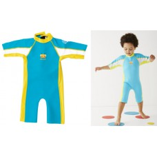 Splashabout: UV Combi Wetsuit in Turquoise - 1-2yrs