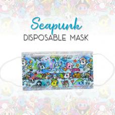 Enchanté: Disposable Face Masks - Seapunk