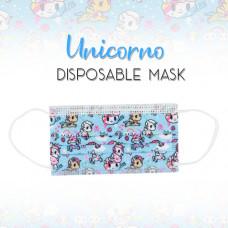 Enchanté: Disposable Face Masks - Unicorno