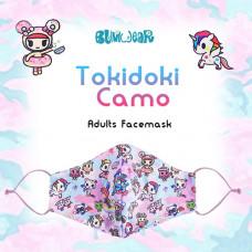 Tokidoki: Enchanté - Camo Adult Face Mask
