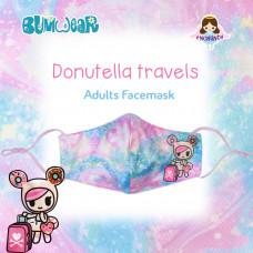 Enchanté: Reusable Face Mask - Donutella Travels (Adult)