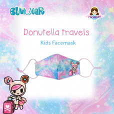 Tokidoki: Enchanté - Donutella Travels Kids Face Mask