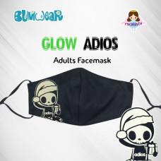 Tokidoki: Enchanté - Glow-in-the-dark Adios Adult Face Mask