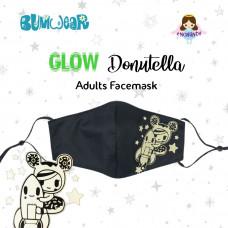 Tokidoki: Enchanté - Glow-in-the-dark Donutella Adult Face Mask