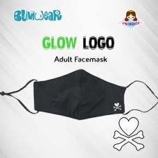 Enchanté: Reusable Face Mask - Glow-in-the-dark Logo (Adult)