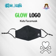 Enchanté: Reusable Face Mask - Glow-in-the-dark Logo (Kids)