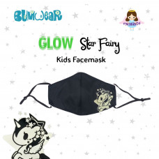 Enchanté: Reusable Face Mask - Glow-in-the-dark Star Fairy (Kids)