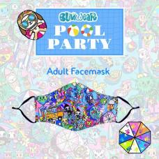 Tokidoki: Enchanté - Pool Party Adult Face Mask