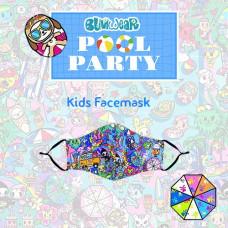 Tokidoki: Enchanté - Pool Party Kids Face Mask