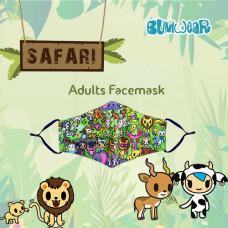Tokidoki: Enchanté - Safari Adult Face Mask