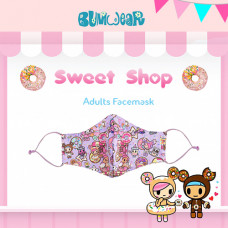 Tokidoki: Enchanté - Sweetshop Adult Face Mask