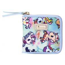 Tokidoki: Watercolor Paradise - Small Zip Around Wallet
