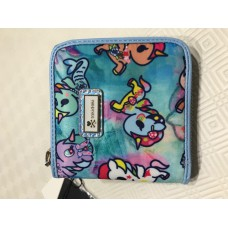 Tokidoki - Watercolor Paradise - Small Zip Around Wallet