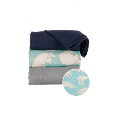 Tula: Blanket Set - Polar Caps