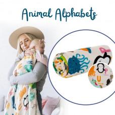 Tula: Cuddle Me Blanket - Animal Alphabet (arriving last week of Oct)