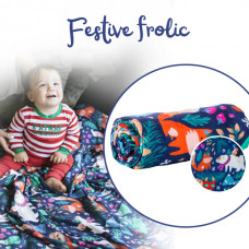 Tula: Cuddle Me Blanket - Festive Frolic (Arriving Early August)