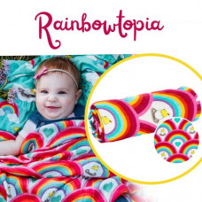 Tula: Cuddle Me Blanket - Rainbowtopia (arriving last week of Oct)