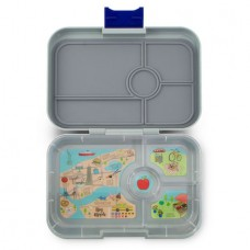 Yumbox Tapas - Flat Iron Gray NYC 4-Compartments