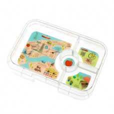 Yumbox Tapas Tray 4-Compartments - New York City