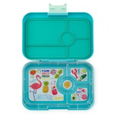 Yumbox Tapas - Antibes Blue Flamingo 4-Compartments