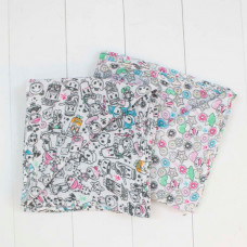 Bebe Au Lait - Swaddle Blankets TKDK Tokipops
