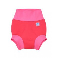 Splashabout: Happy Nappy in Geranium Pink - M 3-6mth