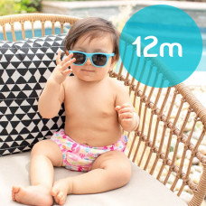 iPlay: 12 months Snap Reusable Absorbent Swim Diaper