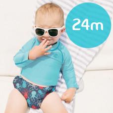 iPlay: 24 months Snap Reusable Absorbent Swim Diaper