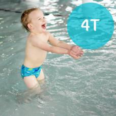 iPlay: 4T Snap Reusable Absorbent Swim Diaper